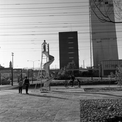 Unidad Habitacional Nonoalco - Tlatelolco, 1964.