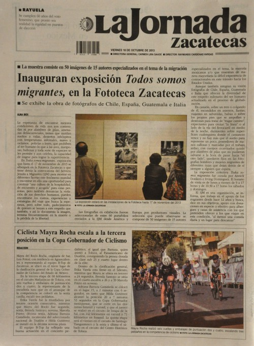 LaJornadaZacatecas 18.10.2013