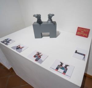 Renato Garza Cervera: Los pies de Juárez (2003 - 2014) Propuesta para momumento (maqueta y proyecciones en 3D impresas).