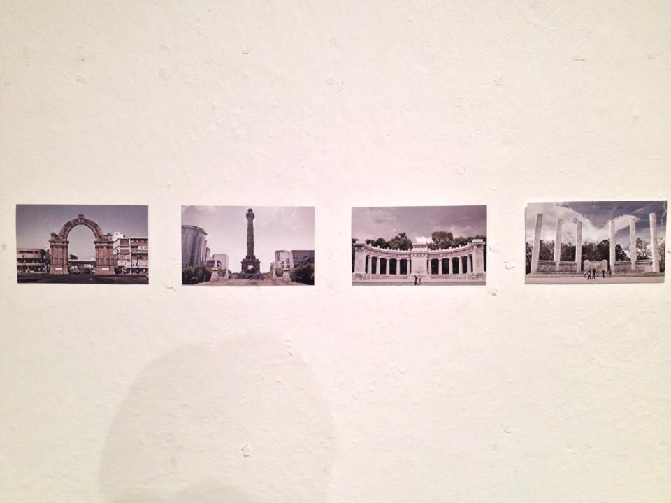 Edgar Durán, Rastros, versión 2014, edición de mil postales por imagen, serie de 4.